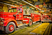 Restored Fire Trucks